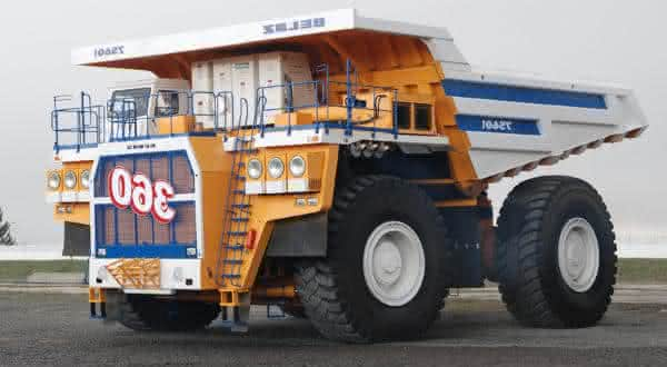 Belaz 75601 entre os maiores caminhoes do mundo