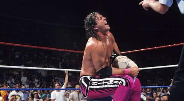 Bret Hart entre os maiores lutadores da historia da wwe