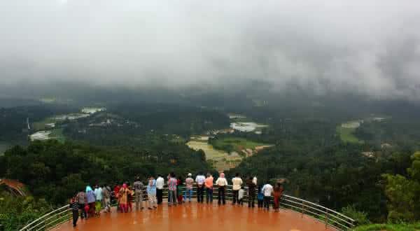 Cherrapunji India lugares mais chuvosos do mundo