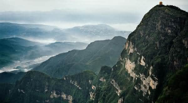 Emei Shan lugares mais chuvosos do mundo
