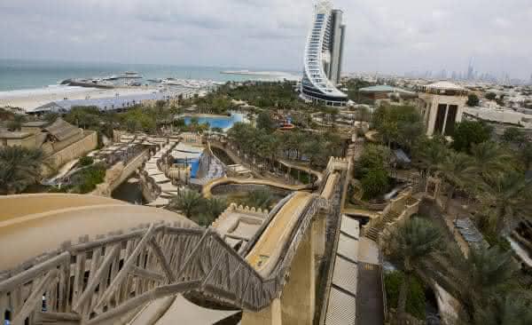 Jumeirah Sceirah entre os maiores toboáguas do mundo
