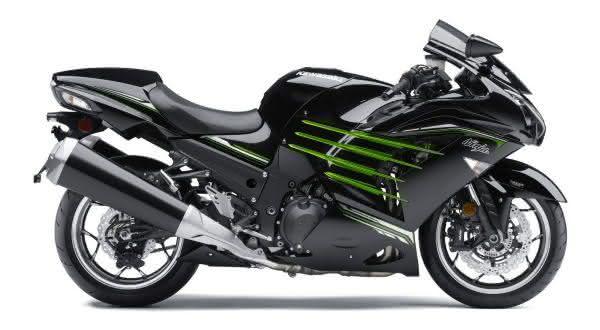 motos mais rápidas do mundo Kawasaki ZZR 1400 Ninja