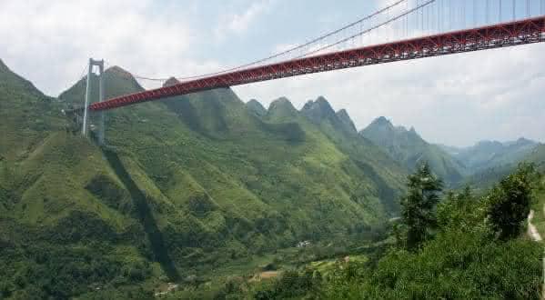 Ponte do Rio Baling entre as pontes mais altas do mundo
