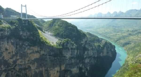 Ponte do Rio Beipanjiang entre as pontes mais altas do mundo