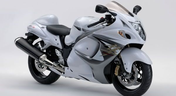 Suzuki Hayabusa entre as motos mais rapidas do mundo
