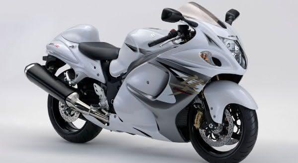 motos mais rápidas do mundo Suzuki Hayabusa GSX1300RA