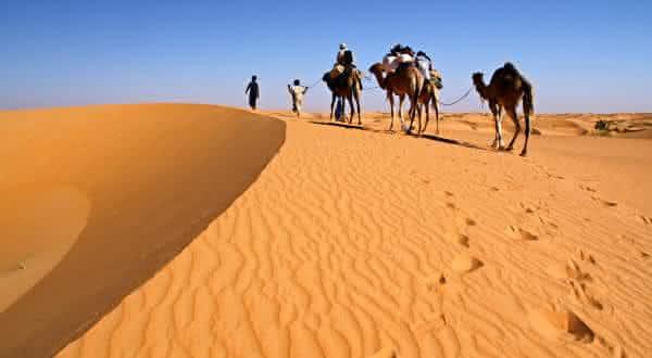 mauritania entre os paises menos densamente povoados do mundo