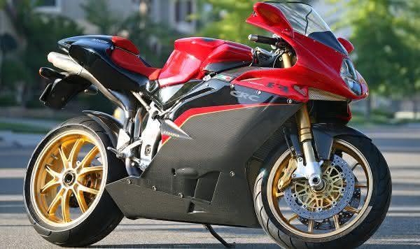 motos mais rápidas do mundo MV Agusta F4 Tamburini