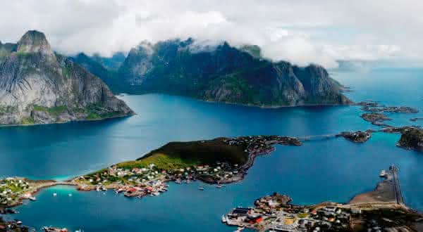 noruega entre as maiores costas litoraneas do mundo