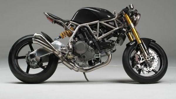 Ducati Testa Stretta NCR Macchia Nera entre as motos mais caras do mundo