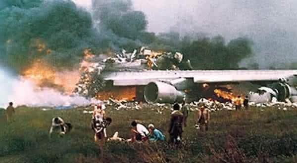 Pan Am Flight 1736 e KLM Flight 4805 entre os maiores acidentes aereos de todos os tempos