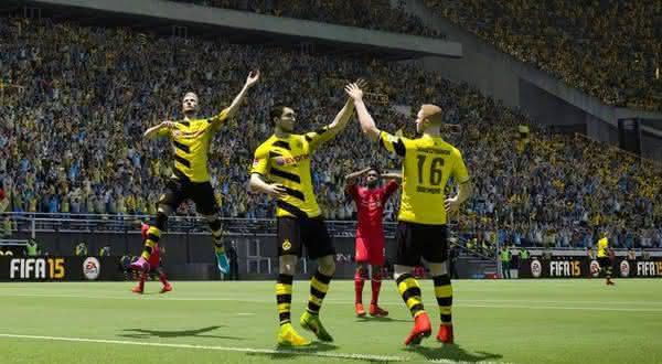 borussia dortmund entre as melhores equipes do fifa 2015