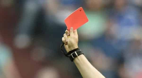 cartao vermelho entre as coisas que voce nao sabia sobre o futebol