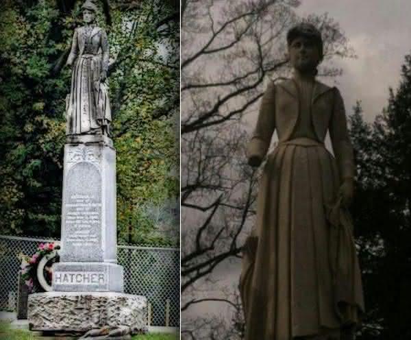 Octavia Smith Hatcher  entre os casos mais terriveis de pessoas enterradas vivas