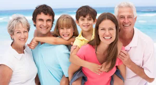familia entre as coisas mais importantes da vida