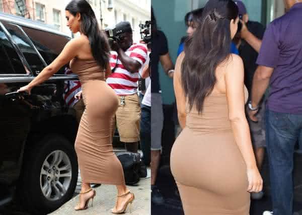 Kim Kardashian fatos hilarios sobre o bumbum que voce nao sabia