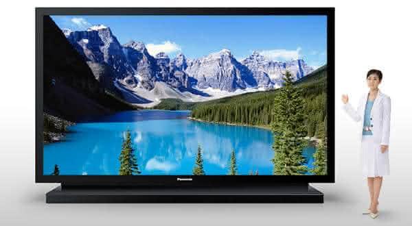 Panasonic 152 inch Plasma TV  entre os televisores mais caros do mundo