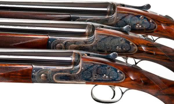 espingarda Sidelock Ejector Over and Under entre as armas de fogo mais caras do mundo