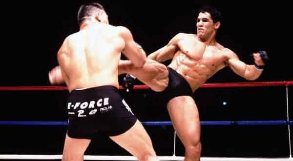 frank shamrock entre os mais jovens campeoes do UFC
