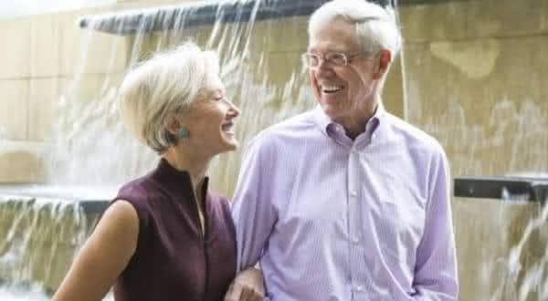 Charles  Elizabeth Koch entre os casais mais ricos do mundo