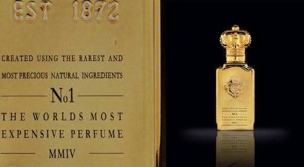 Clive Christian No 1 Parfum entre os perfumes femininos mais caros do mundo
