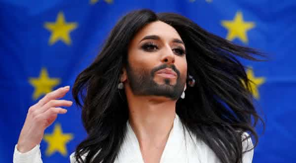 Conchita Wurst entre as transexuais mais ricas do mundo