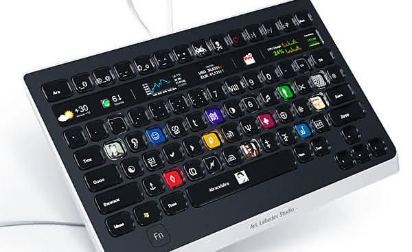 Optimus Popularis entre os teclados para pc mais caros do mundo