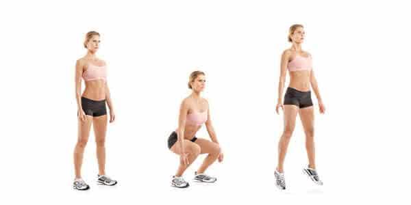 agachamento com salto entre os melhores exercicios para aumentar o bumbum