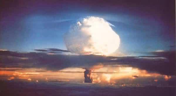 ivy mike entre as maiores explosoes provocadas pelo homem