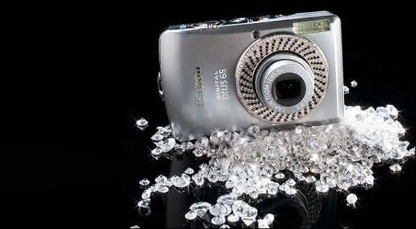 8e74c1d44 Canon Diamond Ixus entre as cameras digitais mais caras do mundo