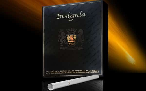 Insignia entre as marcas de cigarro mais caras do mundo