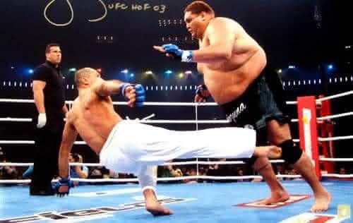 royce gracie entre os melhores lutadores do UFC de todos os tempos