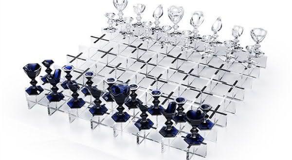 Baccarat Crystal jogos de xadrez mais caros do mundo