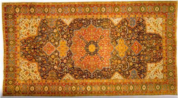 Persian Tabriz Medallion tapetes mais caros do mundo