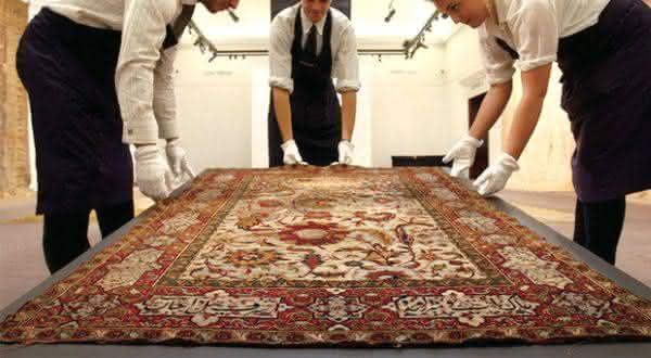 The Clark Sickle-Leaf Carpet tapetes mais caros do mundo