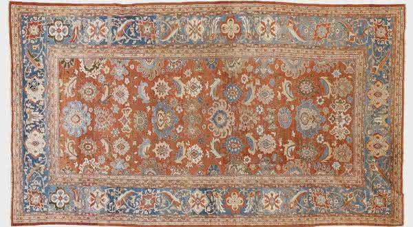 Ziegler Mahal Carpet tapetes mais caros do mundo
