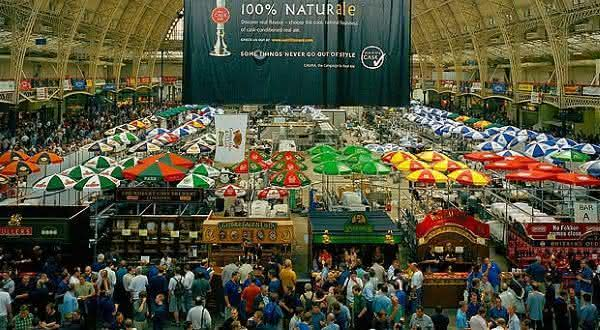 Great British Beer Festival  entre os melhores festivais de bebidas do mundo