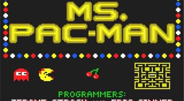 Ms Pac Man entre os jogos de fliperama mais populares de todos os tempos