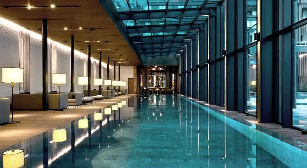 Spa at The Chedi Andermatt 2 entre os melhores spas do mundo
