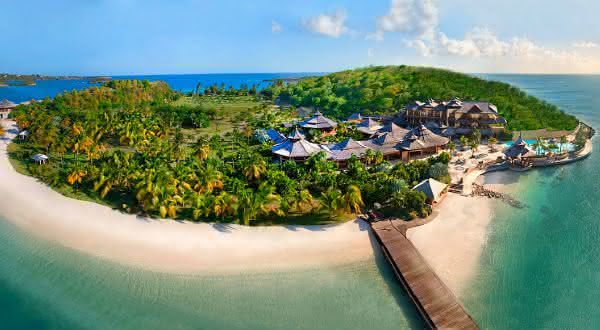 Necker Island Grenada entre as ilhas mais caras do mundo