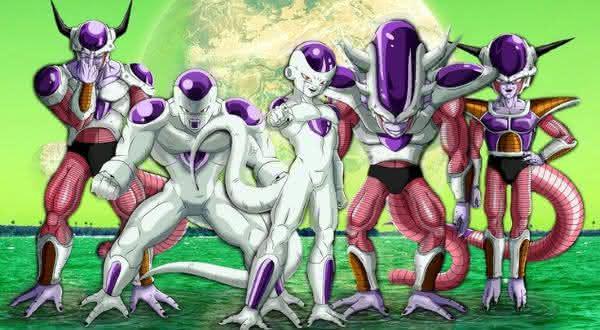 Freeza entre os  viloes mais poderosos dos animes