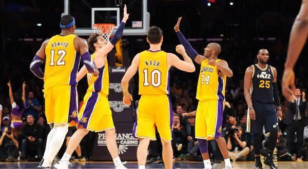 Los Angeles Lakers entre os clubes de esportes mais valiosos do mundo