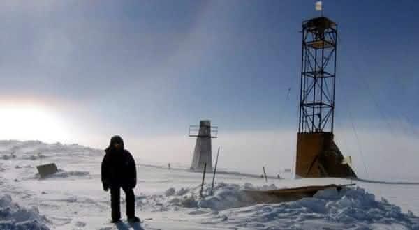 Vostok entre os lagos mais profundos do mundo