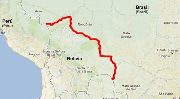 brasil bolivia entre as maiores fronteiras terrestres do mundo