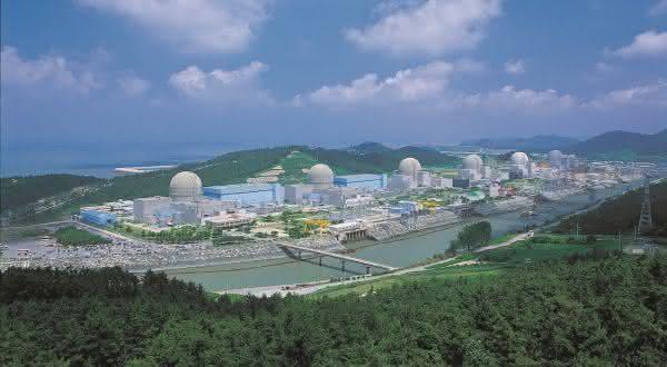 Hanbit entre as maiores usinas nucleares do mundo