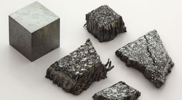 Lutecio  entre os metais mais fortes do mundo