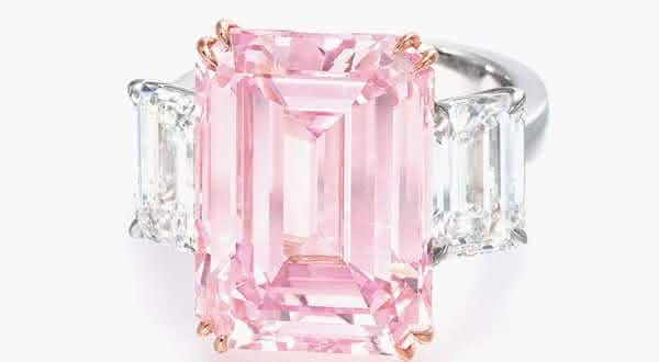 Perfect Pink Diamond entre os aneis mais caros ja feitos