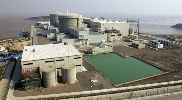 Qinshan entre as maiores usinas nucleares do mundo