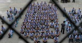 china paises com a maior populacao carceraria do mundo
