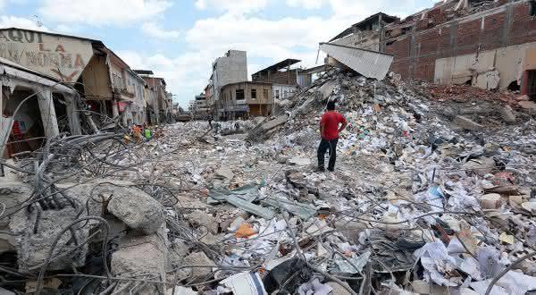 equador entre os paises mais propensos a terremotos